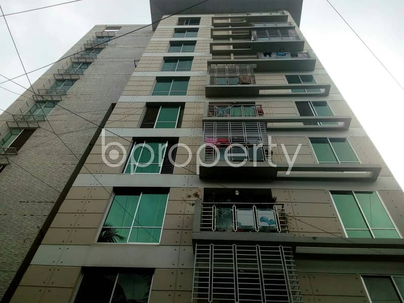 This 2260 SQ Ft apartment ready for sale at Bagmoniram Ward, near Chittagong Tourism & Hospitality (CTH)