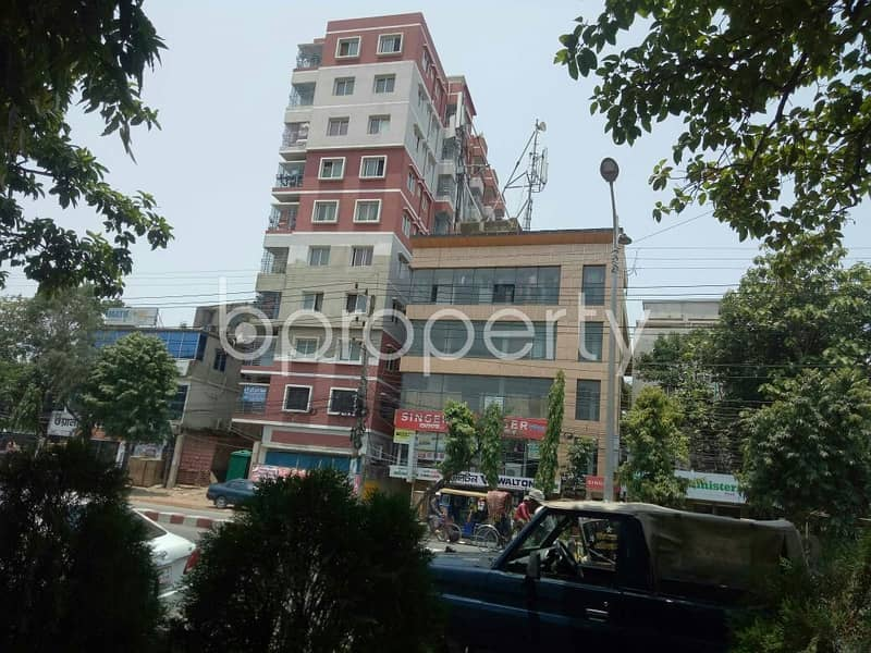 A 3 Bedrooms Nice Flat Up For Sale In Halishahar Near To Brac Bank Limited