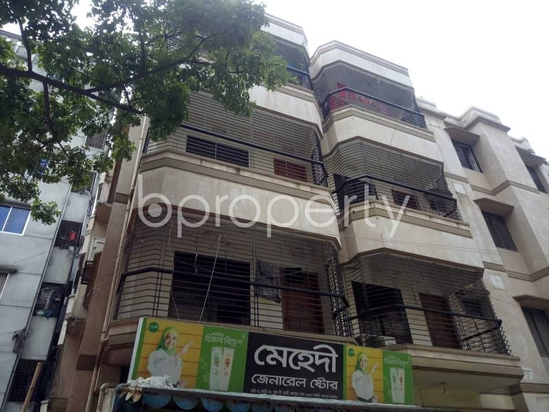 Flat For Rent In Banasree Near Banasree Ideal School And College