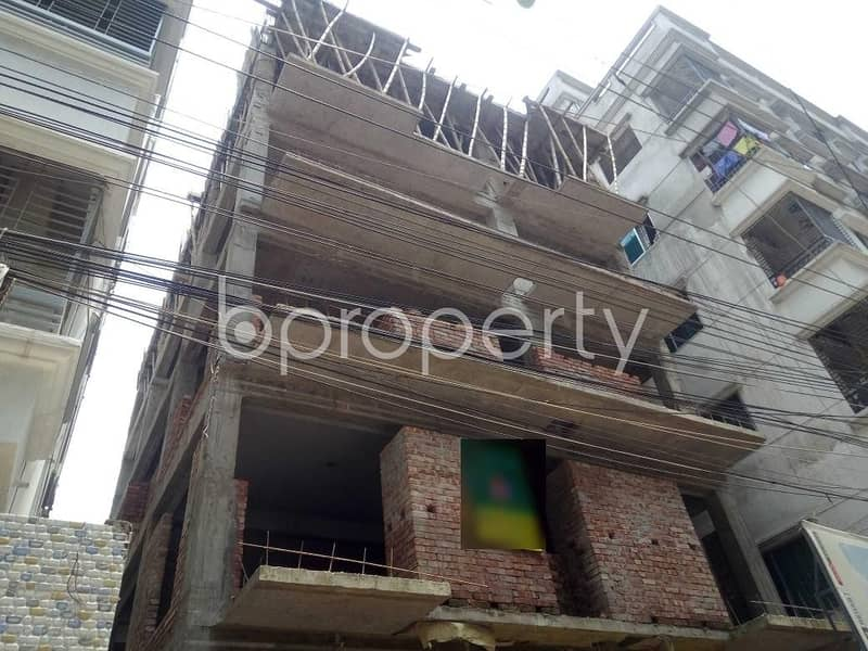 Flat For Sale In Banasree Nearby Holy Crescent International School & College