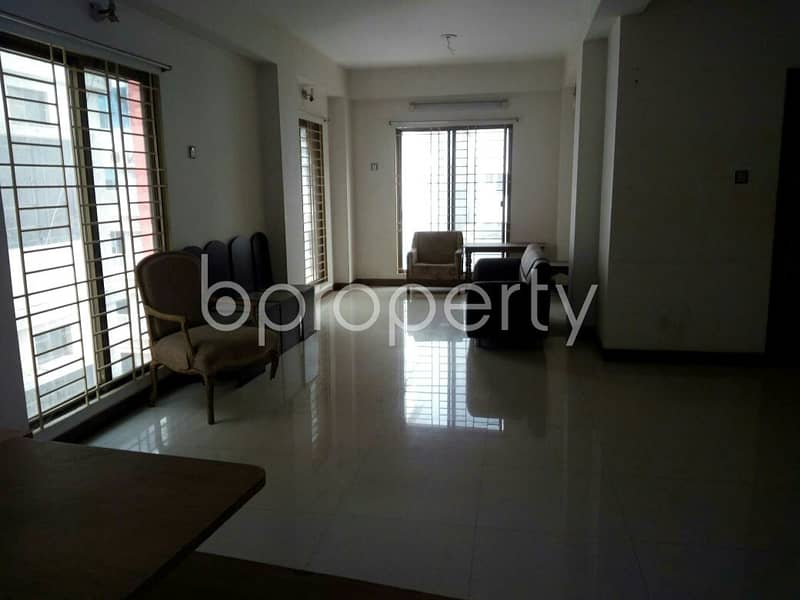 See This Office Space For Rent Located In Mirpur DOHS Near To Baitul Aman Mosjid.
