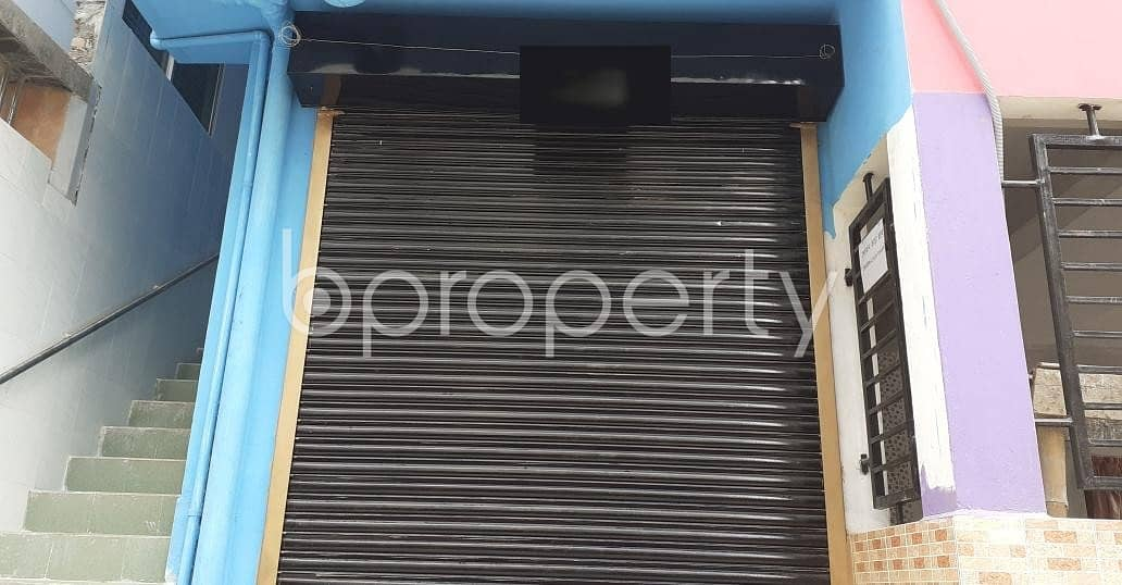 A Shop Is Up For Rent In Rupnagar R/A Near Bangladesh University of Business and Technology.
