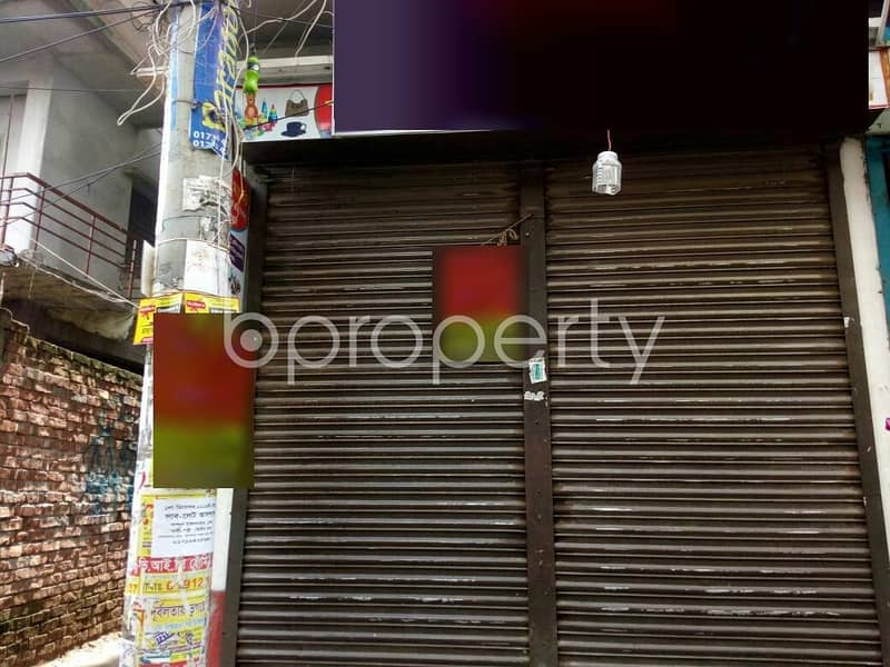 A Shop Is Up For Rent In Middle Badda Near Baitul Abedin Jame Masjid .