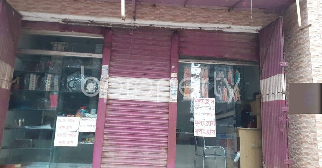 A Shop Is Up For Rent In Banasree Near Abdur Razzaque School And College.