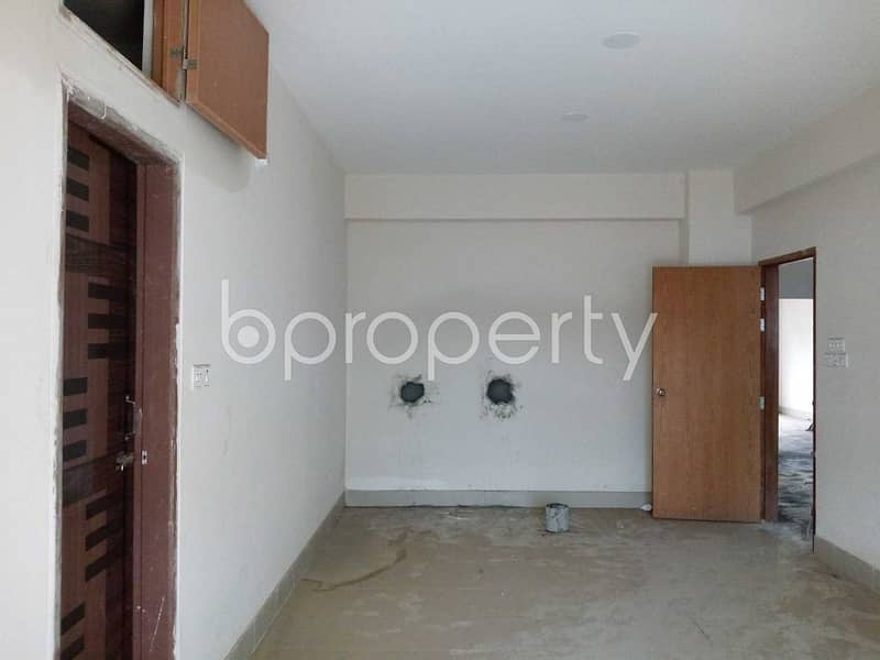 Start A New Home, In This Flat For Rent In Aftab Nagar, Near Gazi Jame Mosjid