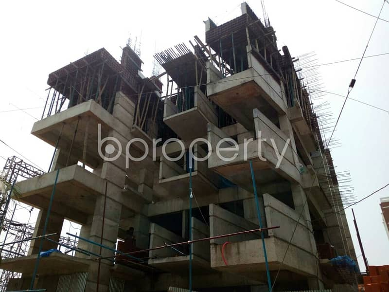 Ready Flat For Sale In Badhundhara R/a Nearby North South University