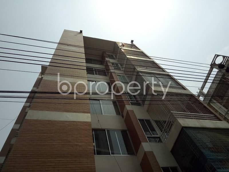 Start A New Home, In This, Flat For Sale In Bashundhara, Near Center For Islamic Economics Madrasa Mosque
