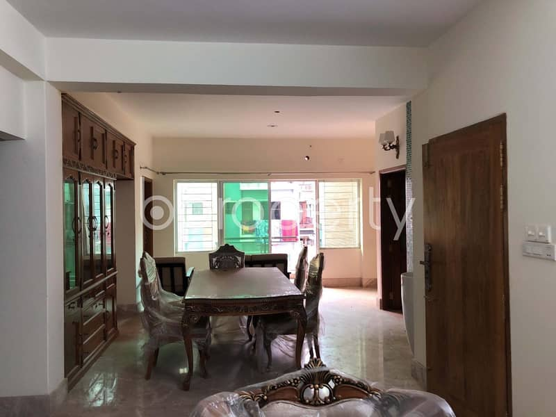 Well Planned Apartment for Rent in Bashundhara R-A nearby North South University