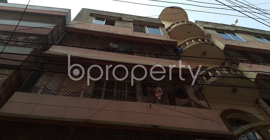 An Apartment Is Ready For Rent At Dhanmondi , Near Baitul Aman Masjid.