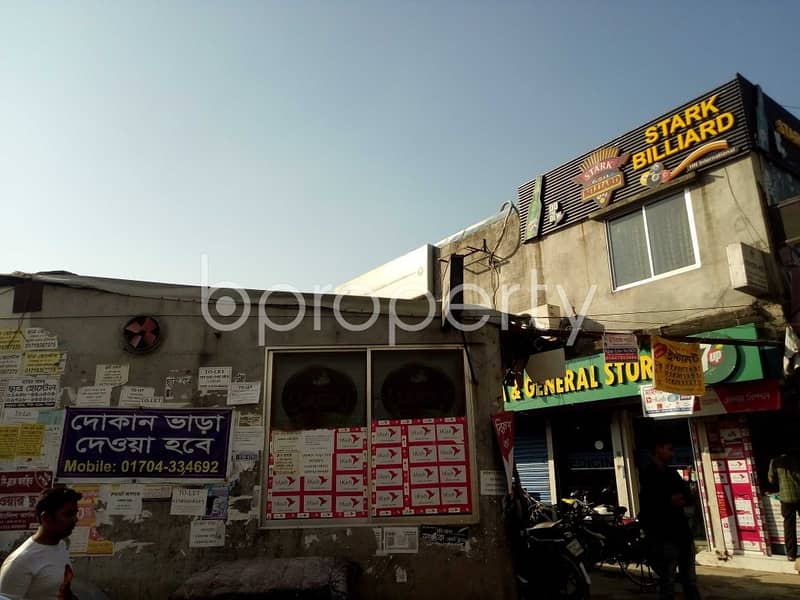 Shop for rent in Bashundhara R-A nearby NSU