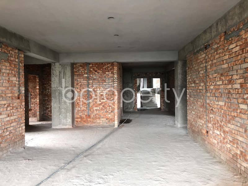 A Distinctive Apartment Which Is Up For Sale At Bashundhara R-A Near To Independent University Bangladesh