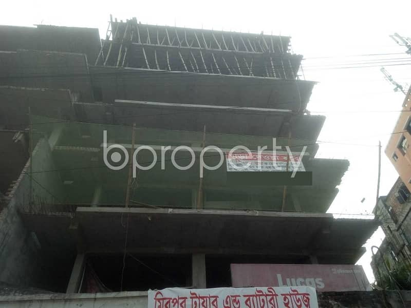This Flat Is Now Vacant For Sale In Mirpur Close To Shaheed Suhrawardi Indoor Stadium