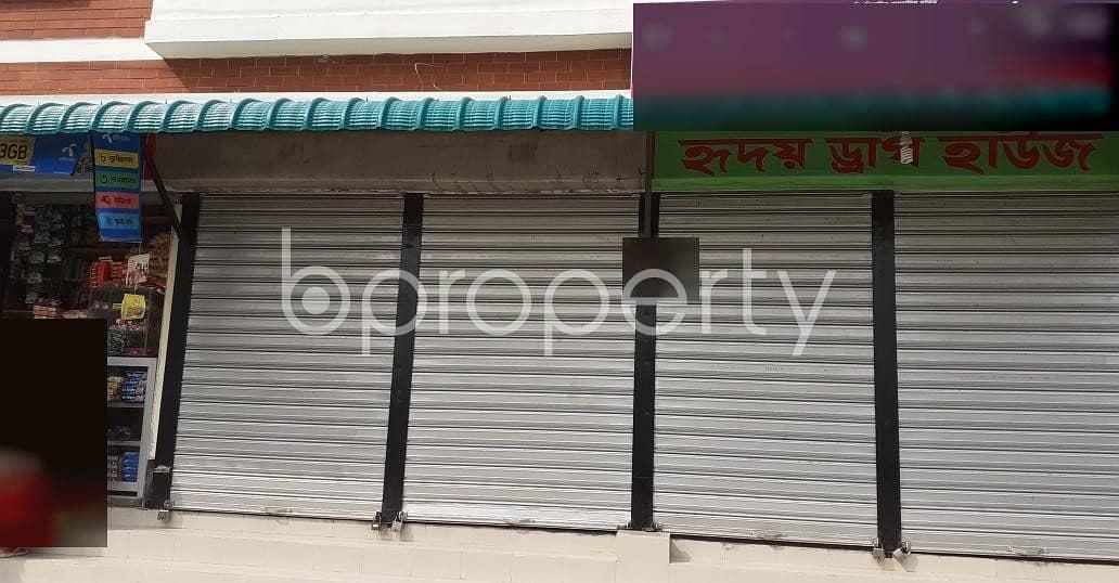 A Shop Is Up For Rent In Pallabi Near Baitul Ibada Mosjid