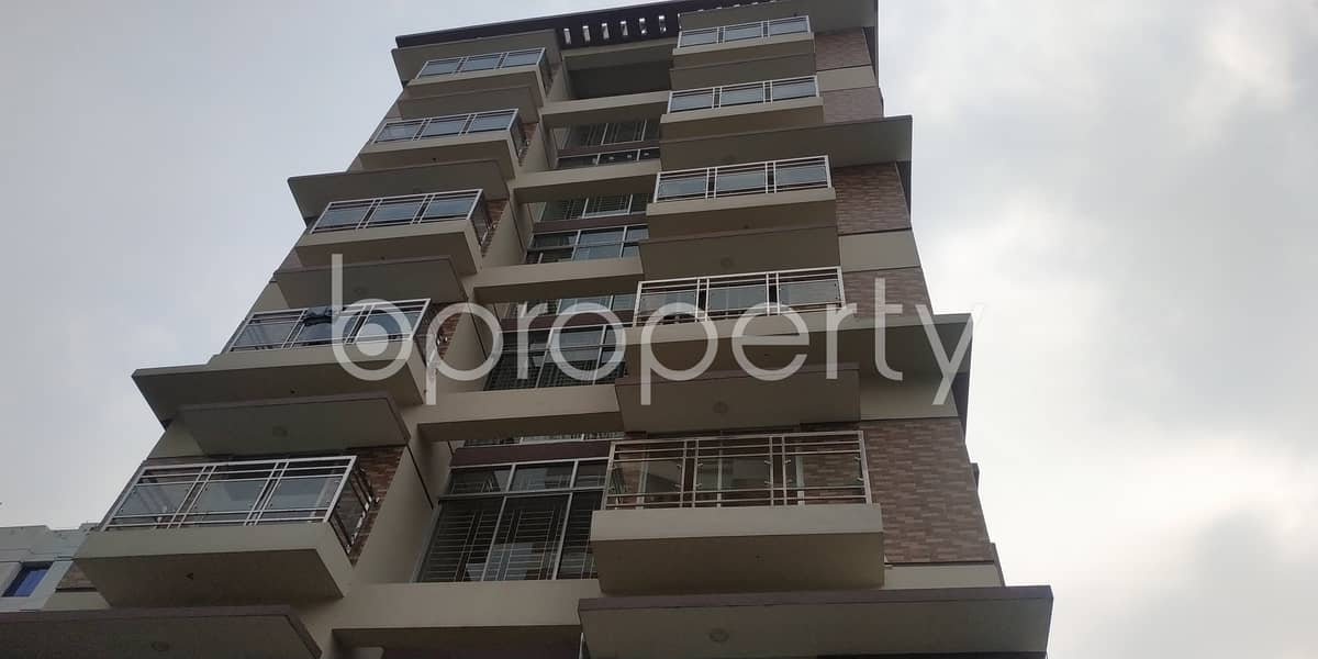 An Apartment Which Is Up For Sale At Bashundhara R-A Near To Chapra Masjid.