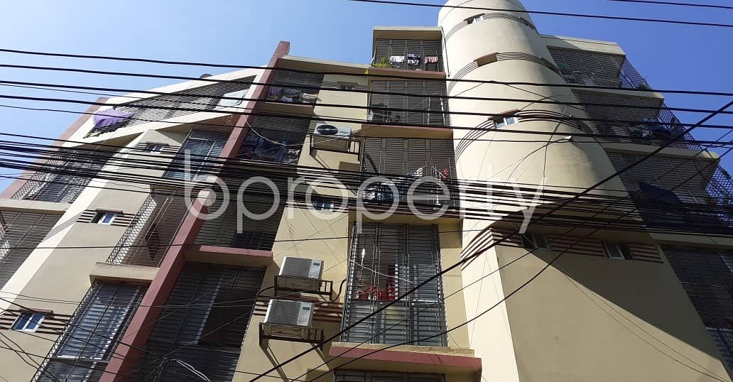 Offering You A Nice Flat For Sale In West Dhanmondi Near Holy Rose School & College