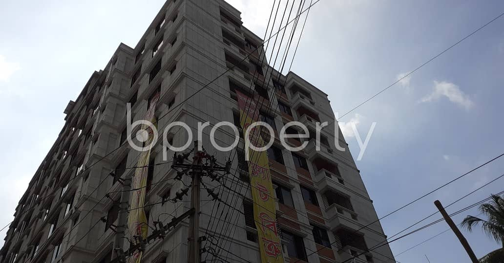 Check This Nice Flat For Sale At West Dhanmondi Nearby Jafrabad Government Primary School