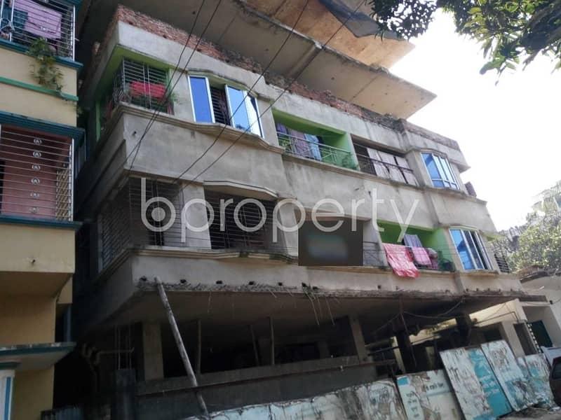 Visit This Apartment For Sale In Halishahar Housing Estate Near Baitun Nur Jame Masjid.