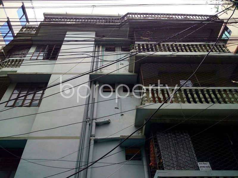 Check This Apartment Up For Rent At Shantibag Residential Area Near Police Line Mosque.