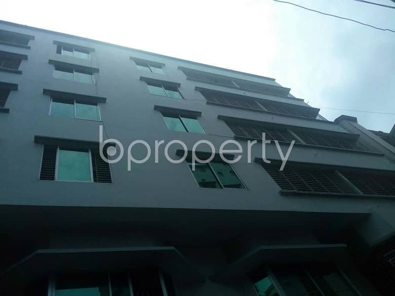 An Apartment Is Up For Rent In Zakir Hossain Housing Society , Near South Khulshi Mosque.