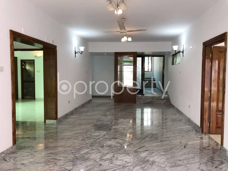A Residential Building Is Ready For Rent At Baridhara, Near American International School Dhaka