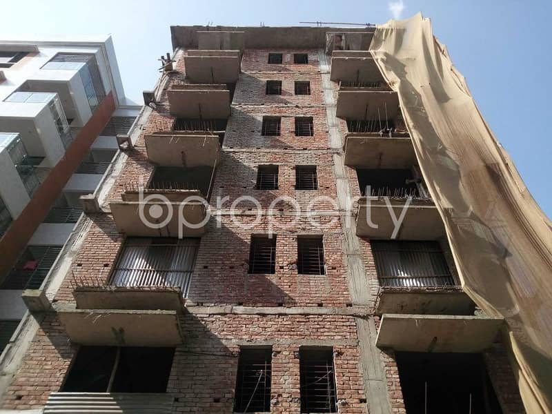 Situated In Aftab Nagar, Near Dhaka Imperial College, An Apartment Is Up For Sale.