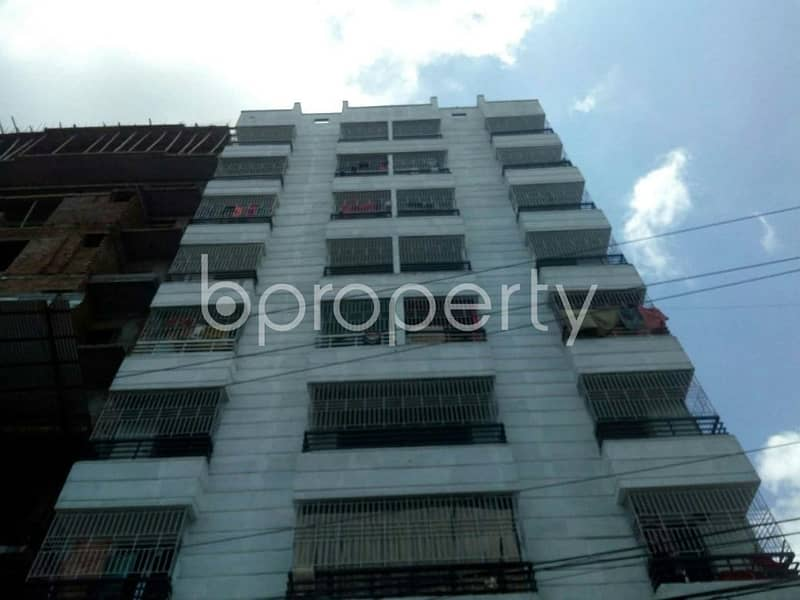 An apartment up for sale is located at Ashoktala, near to Department of Economics