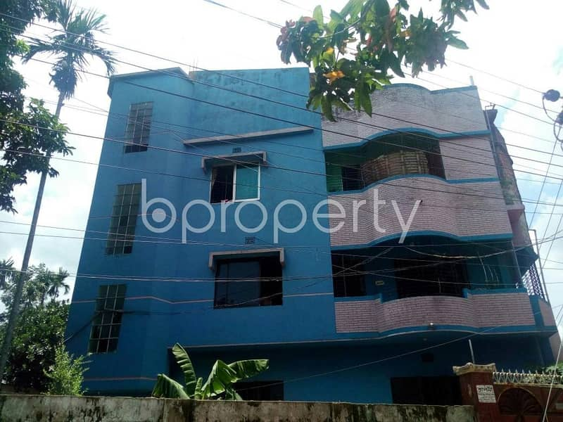 850 Sq. Ft. apartment for rent is located at Race Course, near to Cumilla Markaj Mosjid