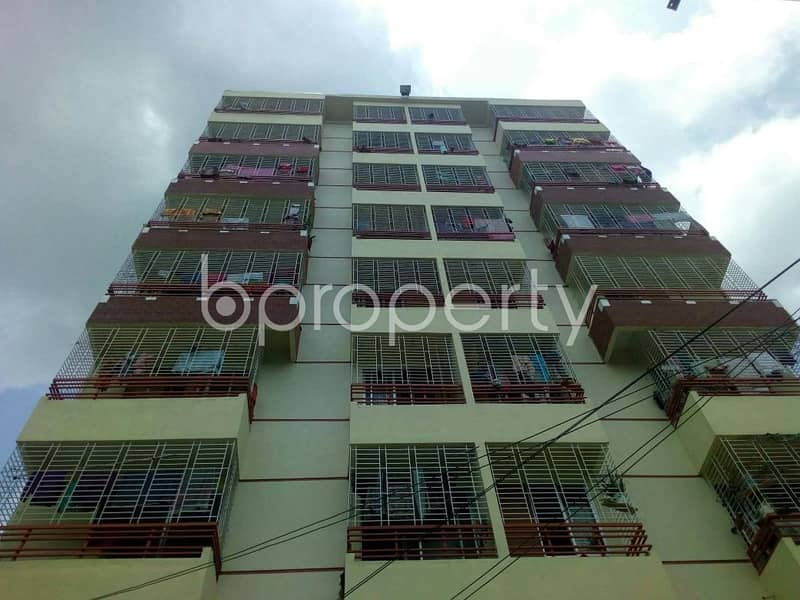 This 850 SQ Ft apartment up for rent in Race Course, near Cumilla Markaj Mosjid