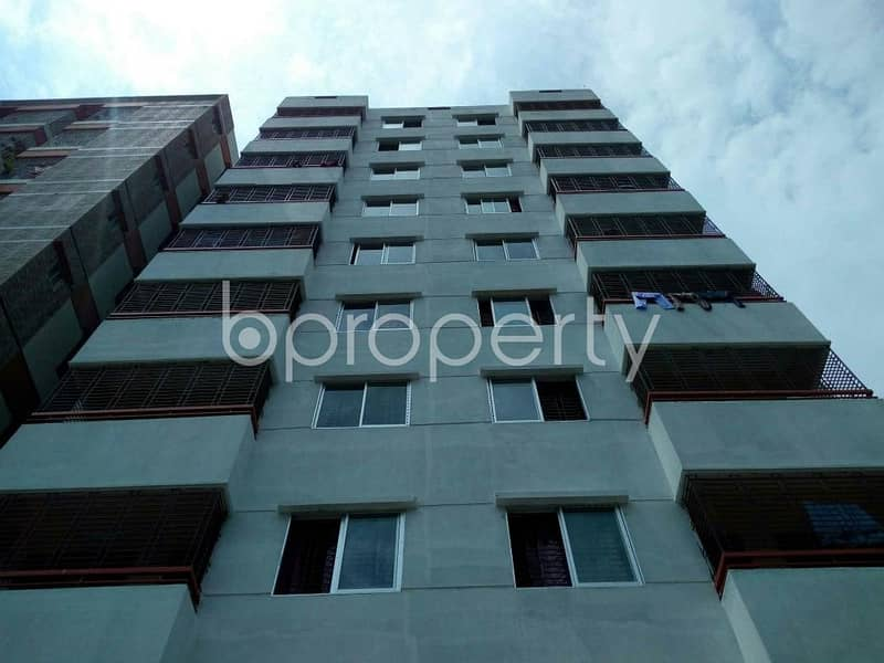 Visit this apartment for rent covering an area of 1050 SQ FT in Race Course near Cumilla Markaj Mosjid