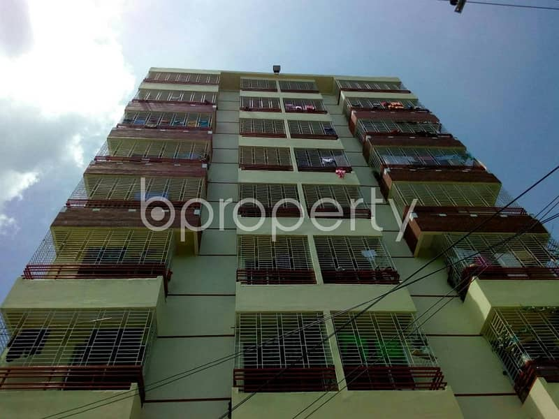 A 1200 SQ FT apartment is up for rent at Race Course nearby Cumilla Markaj Mosjid