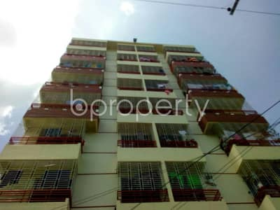 Visit this apartment for rent covering an area of 1200 SQ FT in Race Course near Cumilla Markaj Mosjid.
