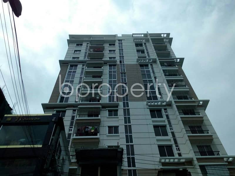 1100 SQ FT apartment is up for rent at Police Line near to Banani Police Line High School