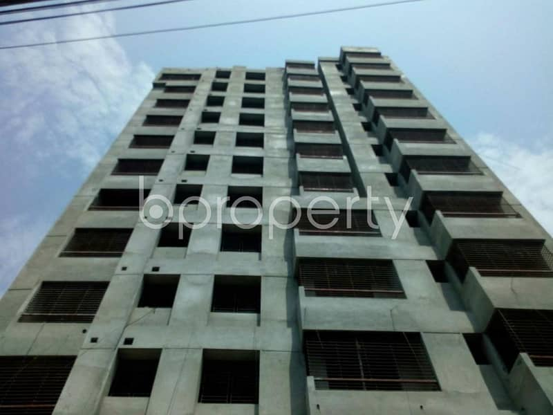 A 1280 SQ FT apartment is up for sale at Manoharpur nearby Comilla Victoria Government College