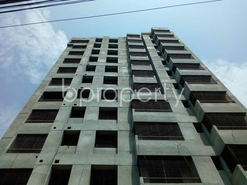 Visit this apartment for sale of 1316 SQ FT in Manoharpur near Comilla Victoria Government College