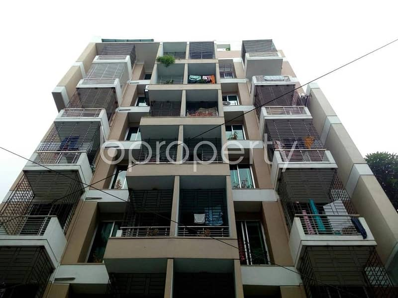 1300 SQ Ft apartment for rent is located on Bashundhara near to MAQBUL AHMED BARI ZAME MASJID
