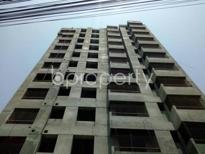 This ready apartment at Manoharpur, near Sattar Khan Complex up for sale.