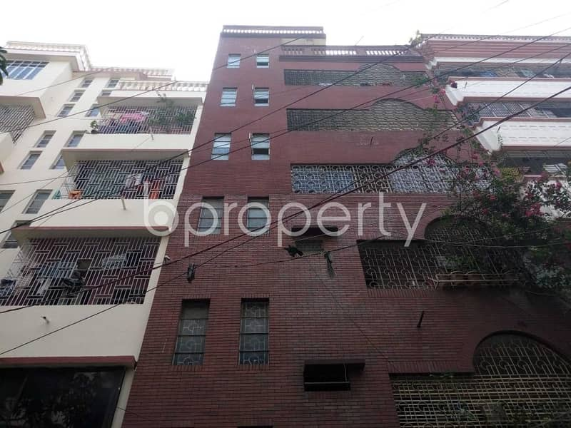 Close To Dutch-bangla Bank Limited, An Apartment For Rent Is Available In Nurjahan Road