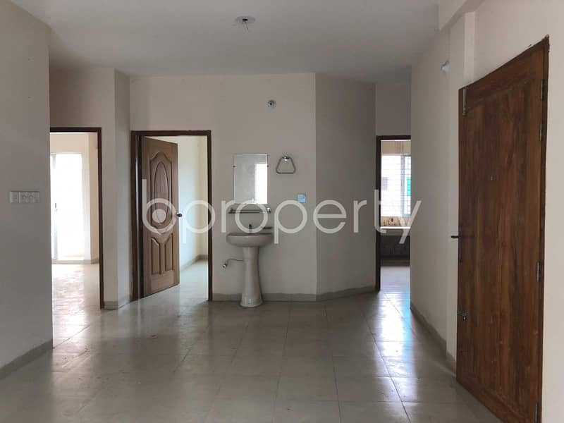 A Beautiful Apartment In Uttara Near Passport Office Is Up For Sale