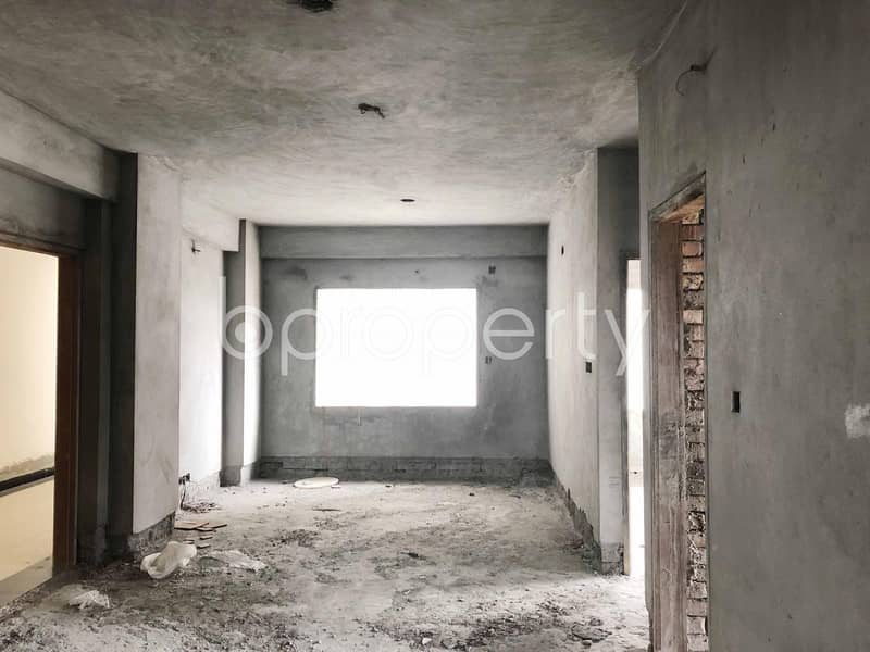 Neat Flat Is Up For Sale In Mirpur Nearby Kalyanpur Girls School And College.