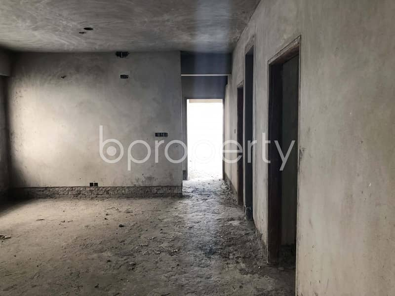 Well Planned Flat Is Up For Sale In Mirpur Near Natun Bazar Jame Masjid