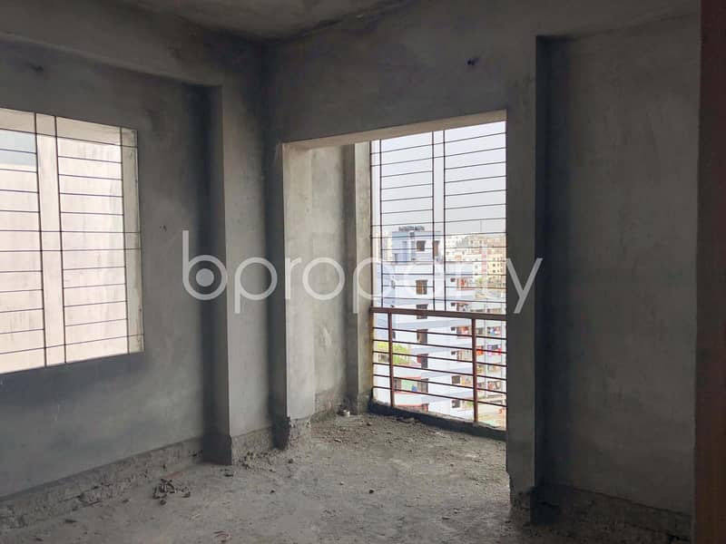 Nearly Finished Apartment Is Up For Sale In Kallyanpur Near Natun Bazar Jame Masjid