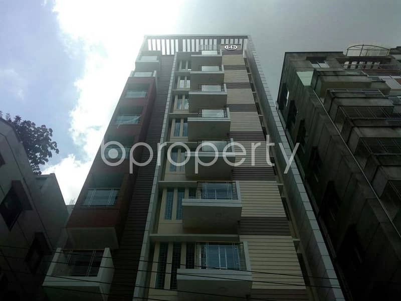 Reasonable 1555 SQ FT flat is available for Sale in Bashundhara R-A near to IUB