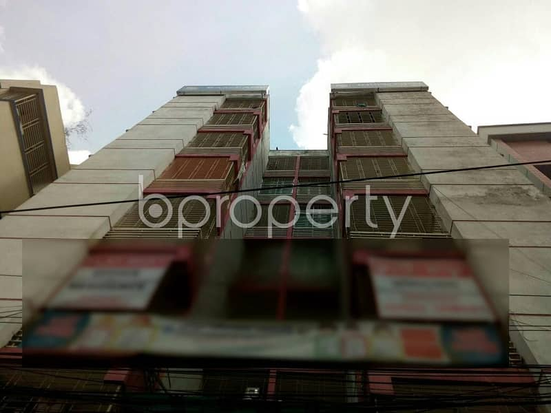 A 1170 SQ Ft office space is for rent which is located in Middle Badda, nearby Mosjidul Jannah