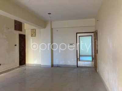 2 Bedroom Flat for Sale in Gazipur Sadar Upazila, Gazipur - A Pleasant Apartment In Turag Near Abeda Memorial Hospital Is Up For Sale