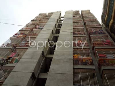 Properly Constructed Flat For Rent In Uttar Badda, Near Sadhinata Sarani Ideal School