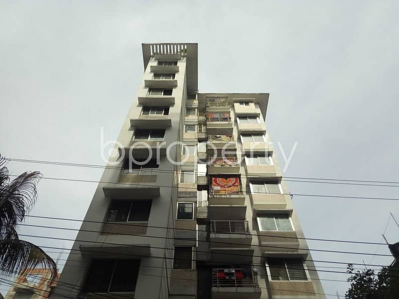 At Bashundhara R-A, flat for Rent close to NSU