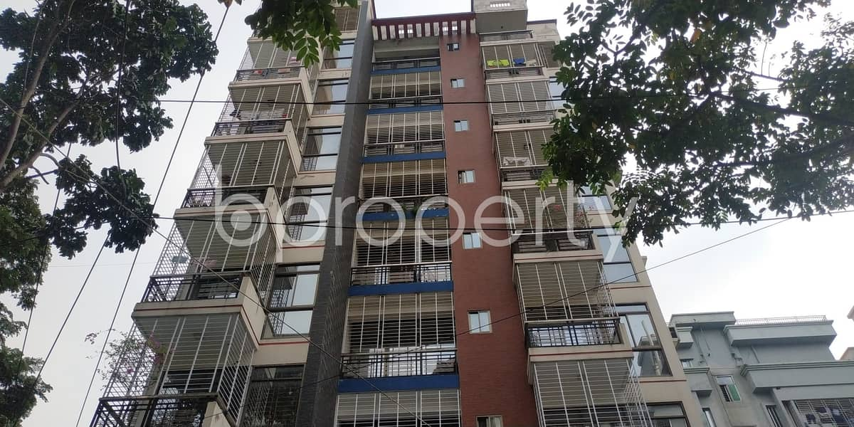 An Apartment Which Is Up For Sale At Bashundhara R-A Near To Viquarunnisa Noon School and College.