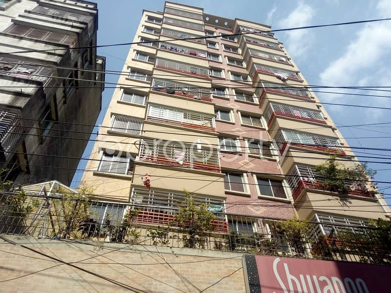 An Apartment Is Ready For Rent At Lalbagh , Near Eden Mohila College.