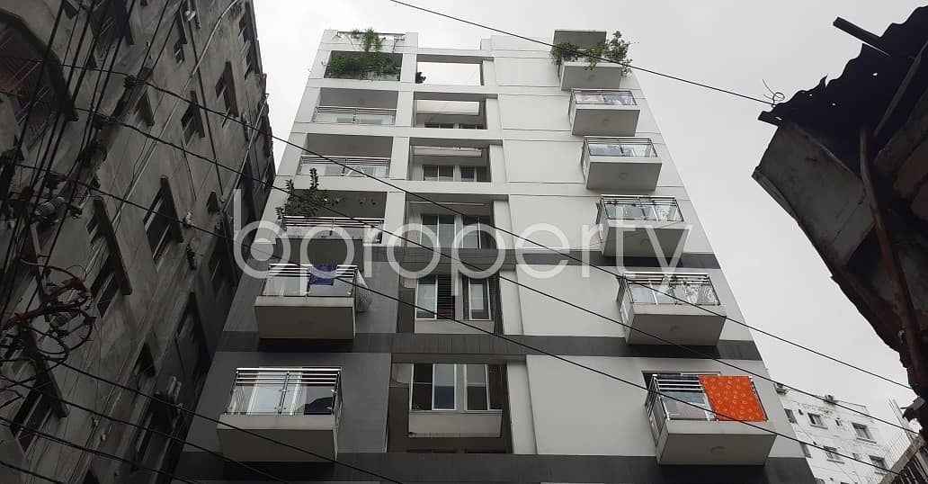 An Apartment Which Is Up For Sale At Kunipara Near To Ahsanullah University of Science and Technology.