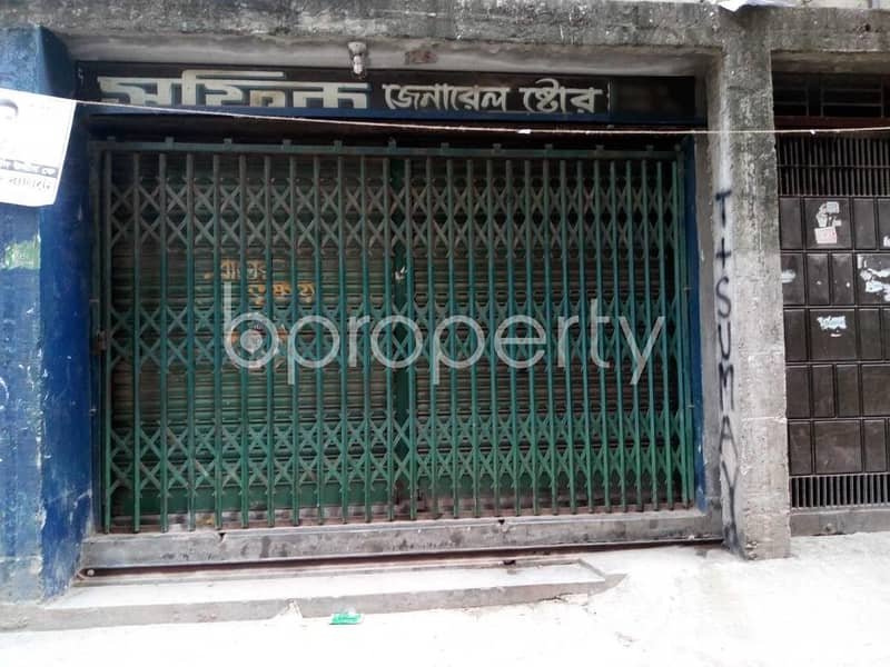 A Shop Is Up For Rent In East Kazipara Near Mother Care International School.